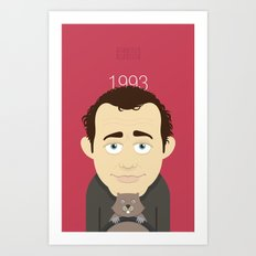 Groundhog Bill Art Print