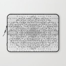 Lord, I need You Laptop Sleeve
