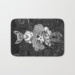 Grizzly and Sphynx Bath Mat