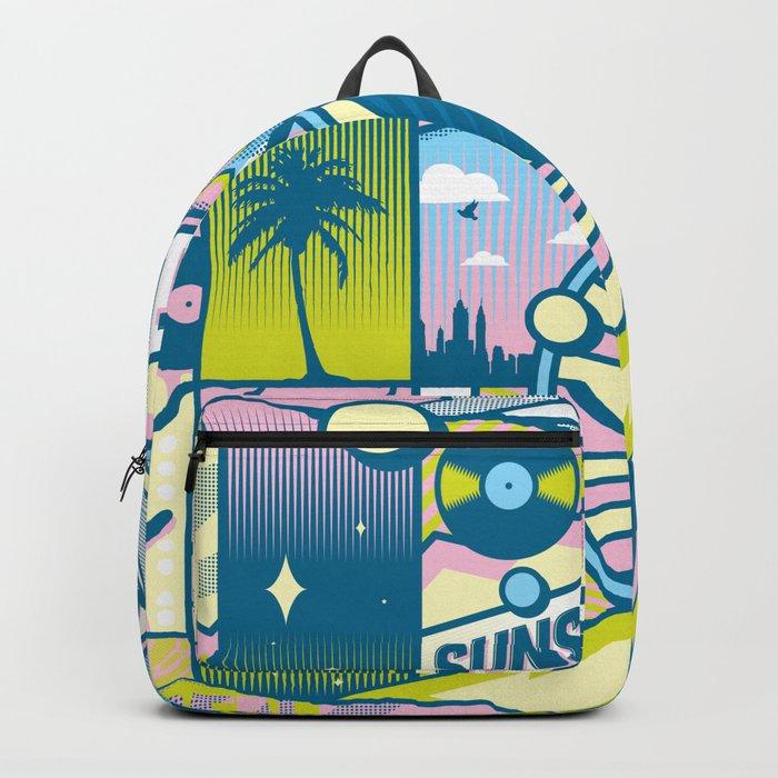 Sunset Boulevard Hustle Backpack