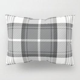 Black & White Tartan Pillow Sham
