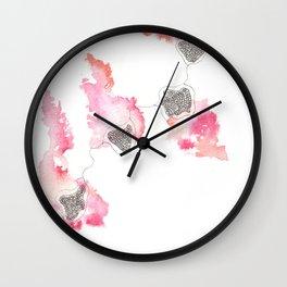 170412 Telomere Healing 25 Wall Clock