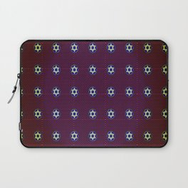 starofdavidpattern Laptop Sleeve