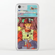 Resistence Squad E. VII Clear iPhone Case