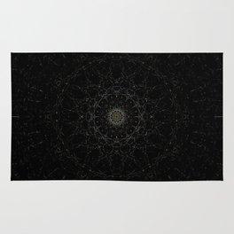space night/ Zeit der Sterne Rug
