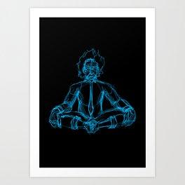 Brainpower Art Print