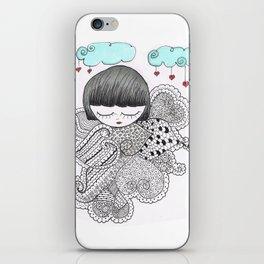 Z-TANGO GIRL iPhone Skin