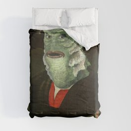 Creature from the Italian Renaissance: Giuliano De Medici meets Black Lagoon Comforters