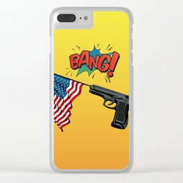 Bang Clear iPhone Case