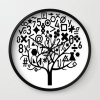 math Wall Clocks featuring math by store2u
