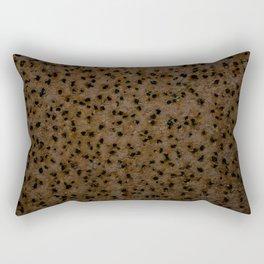 Rust Holes Rectangular Pillow