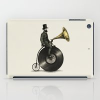 music iPad Cases featuring Music Man by Eric Fan