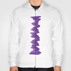 Single Rippled Column Hoody