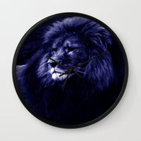 lion Wall Clocks featuring Lion. by 2sweet4words Designs