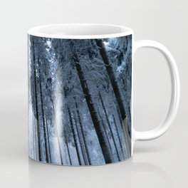 Snowy Winter Trees - Forest Nature Photography Coffee Mug