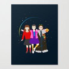 Stranger Friends Canvas Print