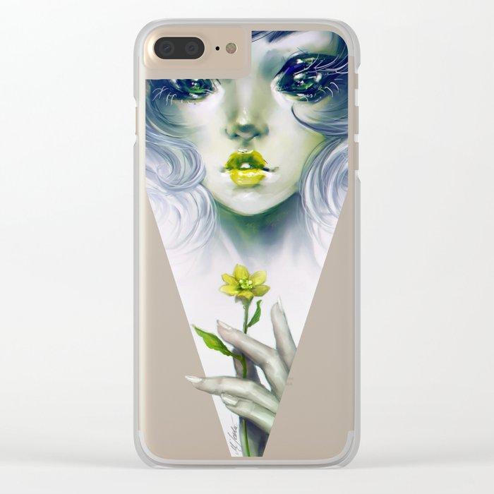 Quixotic - Alien or fairy? Clear iPhone Case