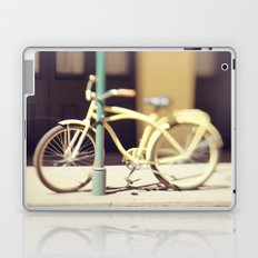 Yellow New Orleans Bicycle Laptop & iPad Skin