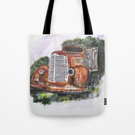Abandoned Long Haul Tote Bag