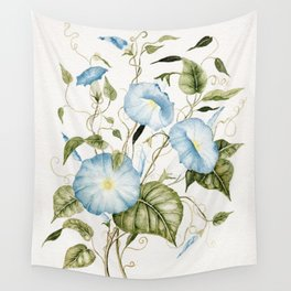 Morning Glories Wall Tapestry