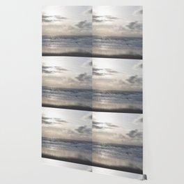 Silver Scene ~ Ocean Ripple Effect Wallpaper