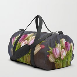 Flowers in a vase - Tulips are better than one Duffle Bag