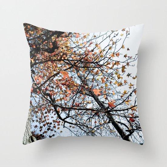 Fall II Throw Pillow
