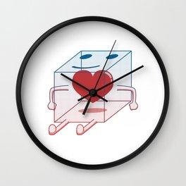 Healthy Little Box of Heart Wall Clock