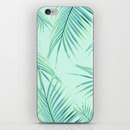 Summer Palm Leaves Dream #1 #tropical #decor #art #society6 iPhone Skin