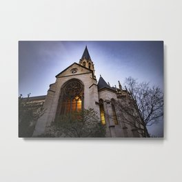 Église Saint Georges in Lyon, France Metal Print