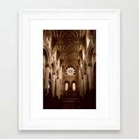 england Framed Art Prints featuring Oxford, England by David Hohmann
