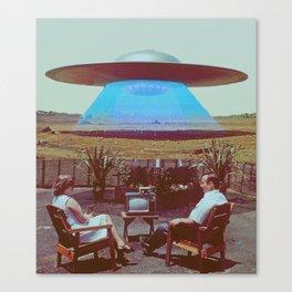 Alien Ship Canvas Print