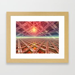 Space Portal To The Stars Framed Art Print