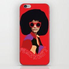 Feminist Afro iPhone & iPod Skin