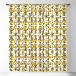 Pineapple Abstract Blackout Curtain