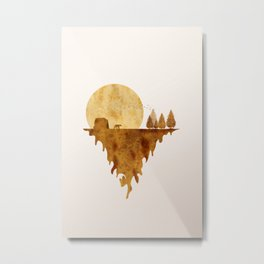 The bear land Metal Print