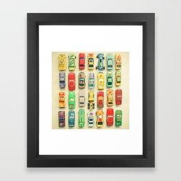 Car Park Framed Art Print