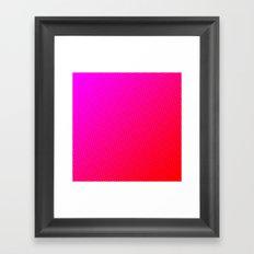 80's grade red Framed Art Print