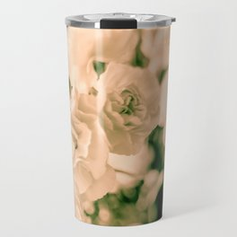 Romance and Ruffles beautiful flowers Travel Mug