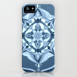 Radial 19 - Blue iPhone Case
