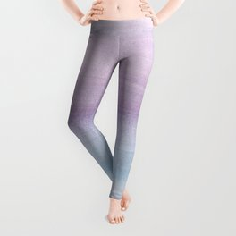 Pastel Watercolor Dream #1 #painting #decor #art #society6 Leggings