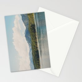 in the shadow of the Alps Garmisch photograph Stationery Cards
