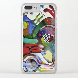 Aspiration pursuit Clear iPhone Case