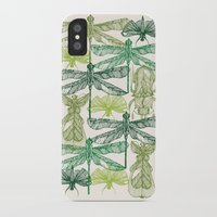 insects iPhone & iPod Cases featuring Insects by nkpappas