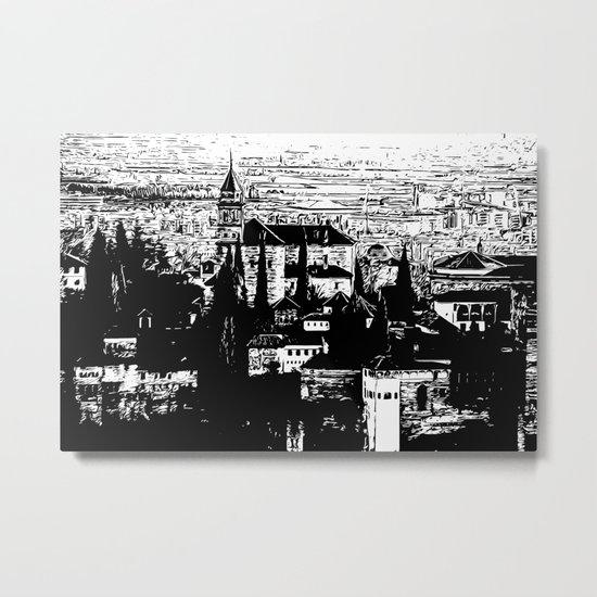 Granada - Alhambra - Me Metal Print