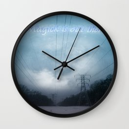 Midnight magick with title Wall Clock