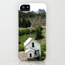 Switchbacks Down from Red Mountain Pass to the Idarado Mine iPhone Case