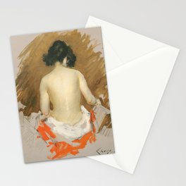 Nude by William Merritt Chase, 1901 Stationery Cards