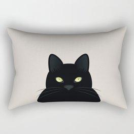 Black Cat II Rectangular Pillow