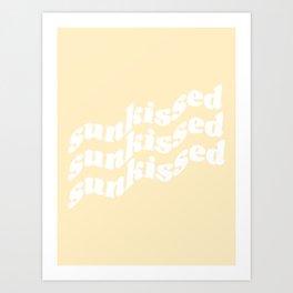 sunkissed Art Print
